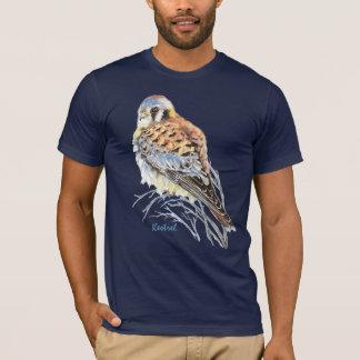 Camiseta Falcão americano do pássaro do falcão do Kestrel
