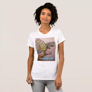 Camiseta Falcão de peixes de travamento da alma