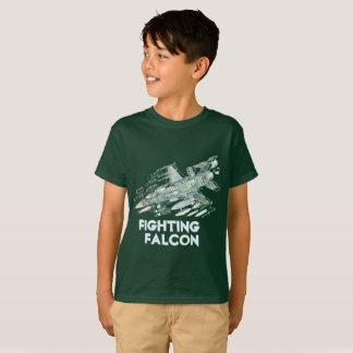 Camiseta Falcão F-16 de combate