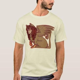 Camiseta fale-me enigmaticamente