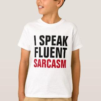 Camiseta Fale o sarcasmo fluente