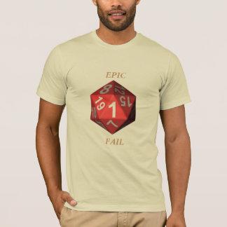 Camiseta Falha épico
