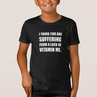 Camiseta Falta da vitamina mim