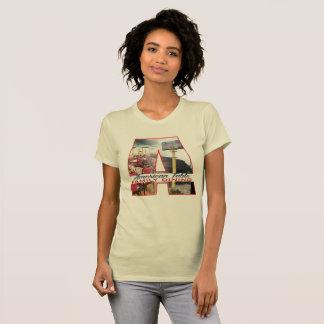 Camiseta Família americana da mesa que janta 3