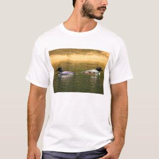 Camiseta Família comum do mergulhão-do-norte