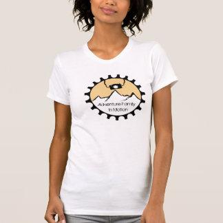 Camiseta Família da aventura no t-shirt do movimento