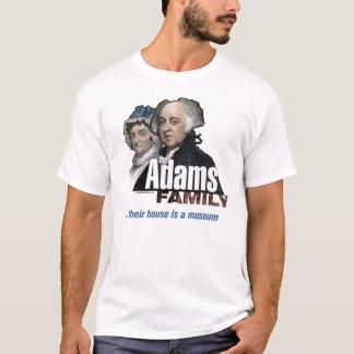 Camiseta Família de John Adams