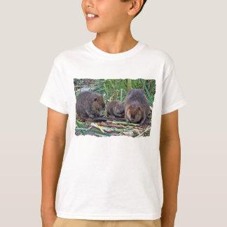 Camiseta Família do castor
