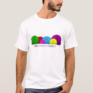 Camiseta Família grande de Dango