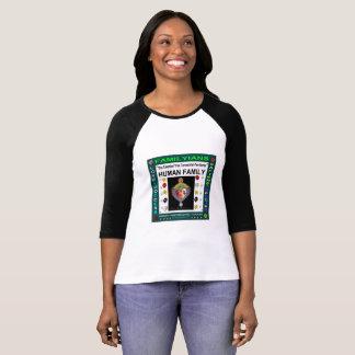 Camiseta Família humana holística de FAMILYIANS