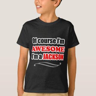 Camiseta Família impressionante de Jackson