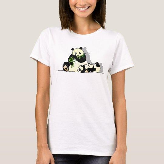 Camiseta Família Panda