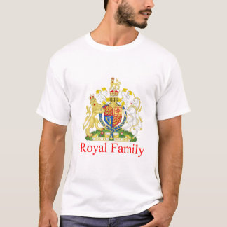 Camiseta Família real BRITÂNICA