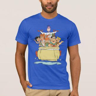 Camiseta Família Roadtrip dos Flintstones