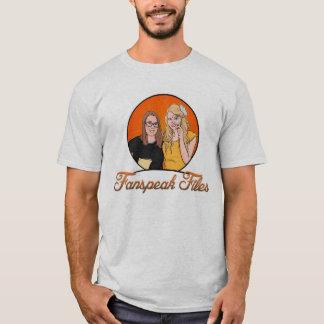 Camiseta Fanspeak arquiva T-camisa-Homens do logotipo