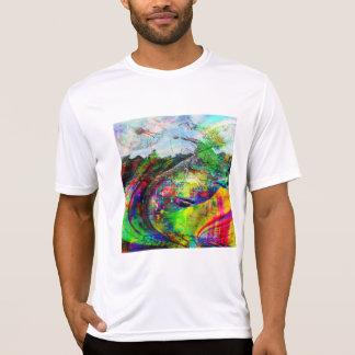 Camiseta Fantasia tropical abstrata