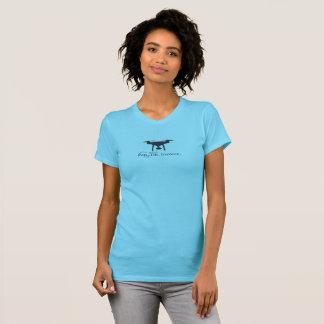 Camiseta Fantasma da mantra DJI do Freelancer do zangão