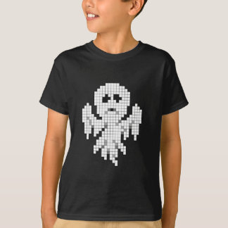 Camiseta Fantasma do pixel