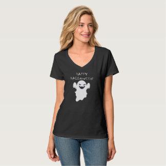 Camiseta Fantasma feliz do vampiro do Dia das Bruxas