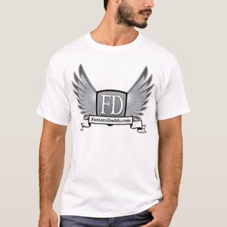 Camiseta FantasyDaddy.com EDUN VIVE padrão unisex da génese