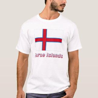 Camiseta Faroe Island embandeiram com nome