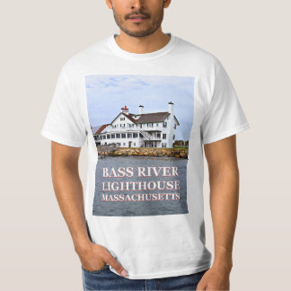 Camiseta Farol baixo do rio, t-shirt de Massachusetts