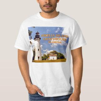 Camiseta Farol de Amelia Island, t-shirt de Florida