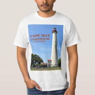 Camiseta Farol de Cape May, t-shirt de New-jersey