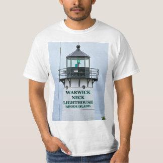 Camiseta Farol do pescoço de Warwick, Rhode - t-shirt da