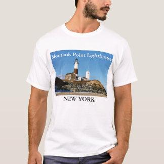 Camiseta Farol do ponto de Montauk, t-shirt de New York
