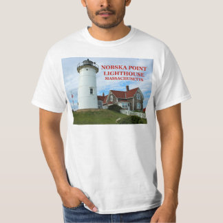 Camiseta Farol do ponto de Nobska, t-shirt de Massachusetts