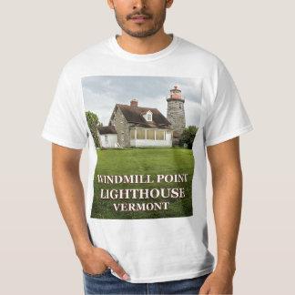 Camiseta Farol do ponto do moinho de vento, t-shirt de