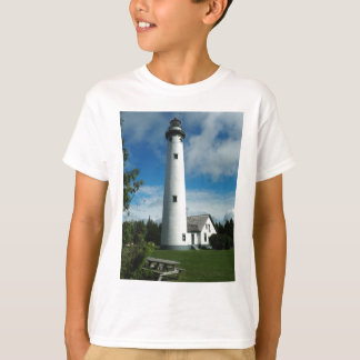 Camiseta Farol novo da ilha de Presque