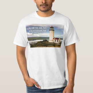 Camiseta Farol principal norte, t-shirt de Washington