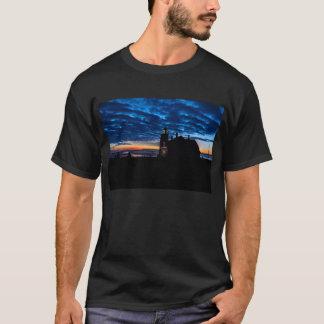 Camiseta Farol principal ocidental de Quoddy, Lubec, MIM
