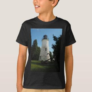 Camiseta Farol velho da ilha de Presque