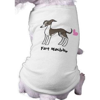 Camiseta Fart a máquina (galgo/whippet/iggy)