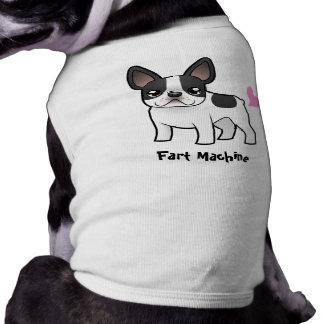 Camiseta Fart a máquina (o buldogue francês)