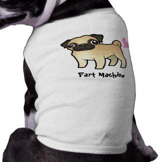 Camiseta Fart a máquina (o pug)