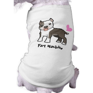 Camiseta Fart a máquina (Pitbull/Am Staffordshire Terrier)
