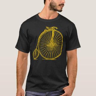 Camiseta Farthing da moeda de um centavo - âmbar