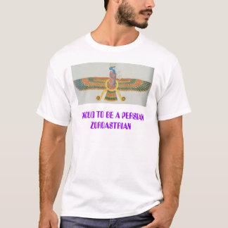 Camiseta farvahar, ORGULHOSO SER UM ZOROASTRIAN PERSA