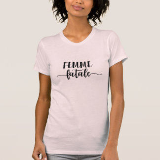 Camiseta fatale do femme