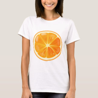 Camiseta Fatia alaranjada