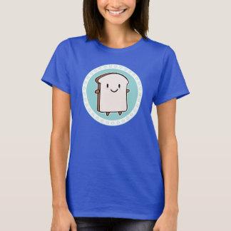 Camiseta Fatia feliz do pão