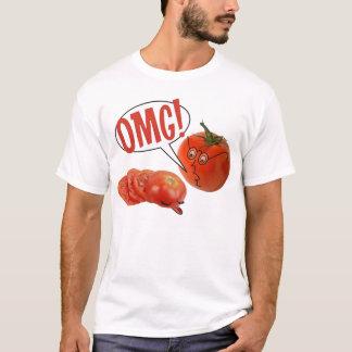 Camiseta Fatias do tomate de OMG