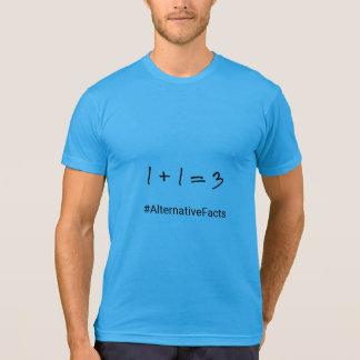 Camiseta Fatos engraçados do alternativo da matemática do