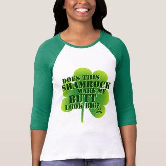 Camiseta Faz este trevo fazem meu bumbum