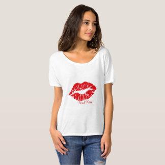 Camiseta faz o beijo