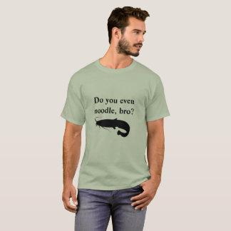 Camiseta Faz você mesmo macarronete, bro? Tshirt
